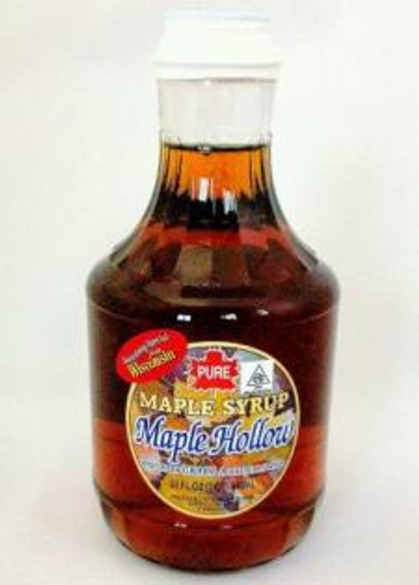 32oz (Quart) Pure Maple Syrup Golden Delicate / Light Amber - Kosher