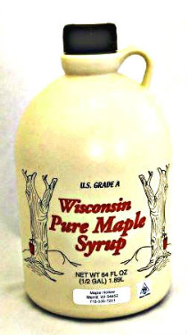 128oz (gallon) Pure Maple Syrup Amber Rich / Medium Amber Kosher