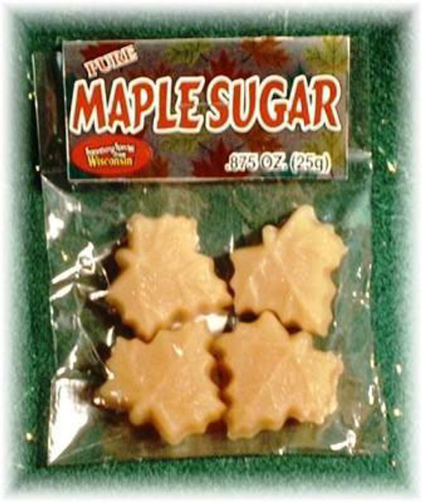 Maple Sugar 4/pak - 7/8 oz - 36/cs Kosher