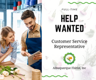 Customer Service Rep Needed - Full Time