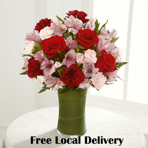 Love In Bloom Bouquet - Local