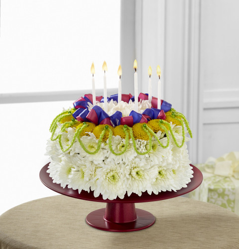 Bright Days Ahead Floral Cake