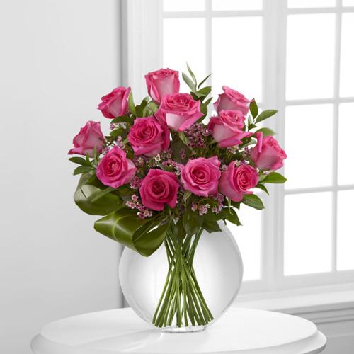 Blazing Beauty Rose Bouquet
