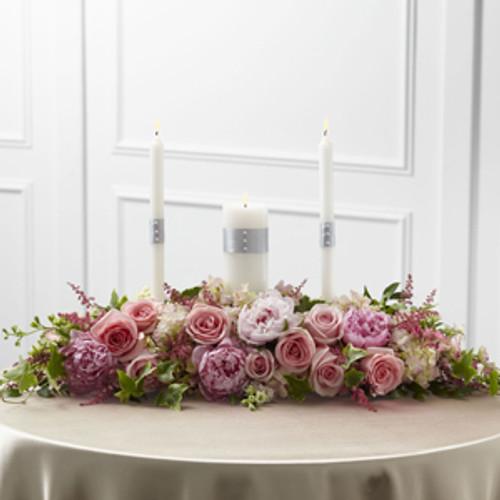 Worldwide Romance Unity Candle Arrangement