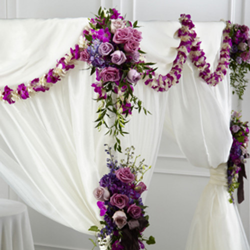 Color & Light Chuppah Décor