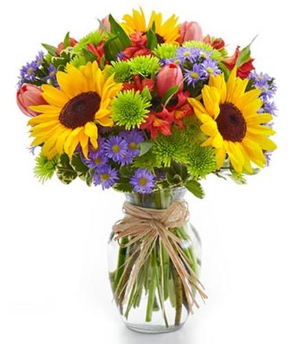 Sunflower Garden Bouquet, bf52 11km