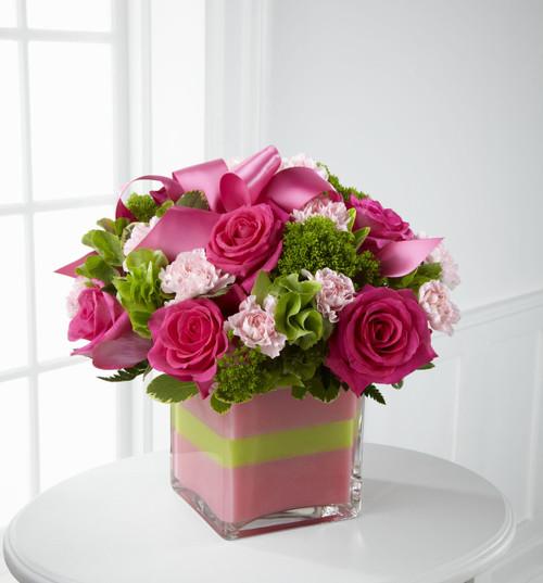 Blushing Invitations Bouquet