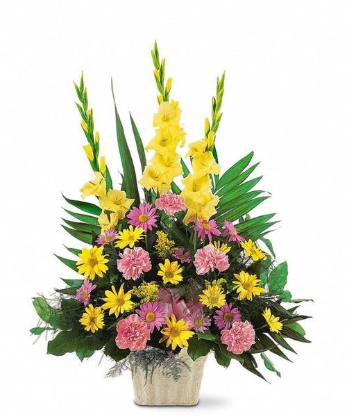 Bright Funeral Arrangement