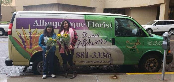 Albuquerque Florist Delivery Van