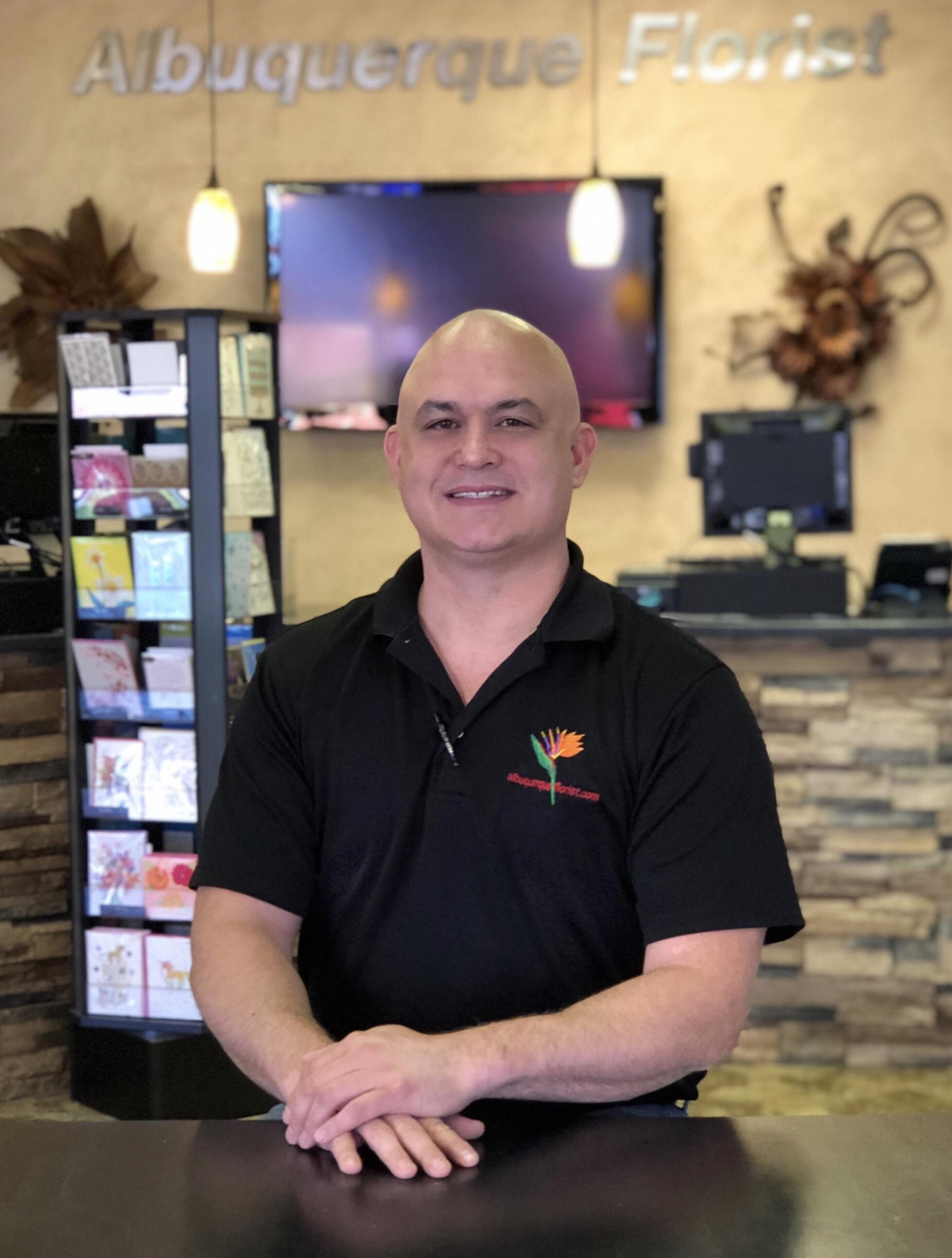 Brennen Rigler, President/CEO of Albuquerque Florist