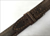 20mm Deep Oil Distressed Genuine Vintage Leather Watch Strap with White Stitching for Breitling (20x18) | Panatime.com