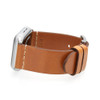 Light Brown Vintage Calf Leather Watch Band | For 42mm Apple Watch