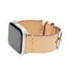 Beige Vintage Calf Leather Watch Band | For 38mm Apple Watch