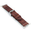 Aged Vintage Calf Leather Watch Band | For 38mm Apple Watch