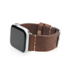 Rough Brown Vintage Calf Leather | Fits 42mm Apple Watch