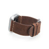 Rough Brown Vintage Calf Leather | Fits 38mm Apple Watch