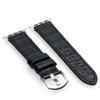 Black Genuine Alligator Watch Band For Apple Watch | Panatime.com
