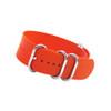 Orange 5-Ring XL Ballistic Nylon Waterproof Watch Strap | Panatime.com