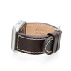 Mocha Shell Cordovan Leather Watch Band for Apple Watch | Panatime.com