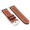 Cognac Shell Cordovan Leather Watch Band for Apple Watch | Panatime.com