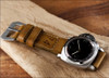 "24mm Gunny Straps Historic ""74"" - Genuine Vintage Leather Watch Strap for Panerai 