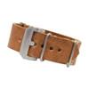 Honey Italian Panerai Style Vintage Leather One-Piece Watch Strap | Panatime.com