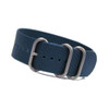 Ocean Blue 3-Ring Ballistic Nylon NATO Watch Strap | Panatime.com
