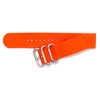 Orange Two-Piece Ballistic Nylon Watch Strap | Panatime.com