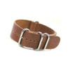 Cork (Distressed) 4-Ring Classic Leather Watch Strap | Panatime.com