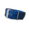 Blue NBR-Rubber Waterproof NATO Watch Strap | Panatime.com