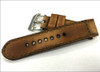 "24mm Gunny Straps ""Caitlin 2"" - Genuine Vintage Leather Watch Strap for Panerai 