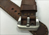 """24mm Gunny Straps """"Caitlin 4"""" - Genuine Vintage Leather Watch Strap for Panerai 