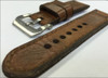 """24mm Gunny Straps """"Caitlin 8"""" - Genuine Vintage Leather Watch Strap for Panerai 