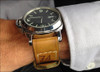 "24mm Gunny Straps Historic ""74"" - Genuine Vintage Leather Watch Strap for Panerai | Panatime.com"