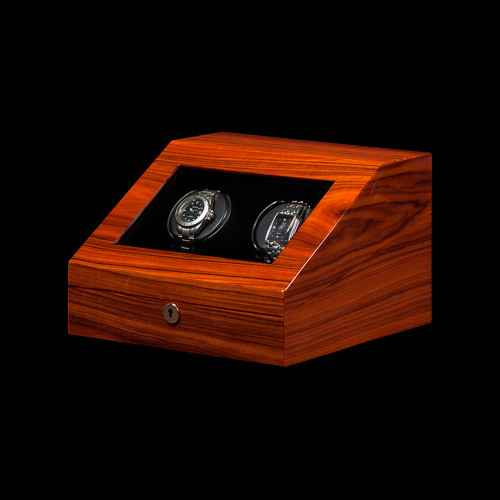 Orbita Teak Siena 2 Watch Winder | Panatime.com