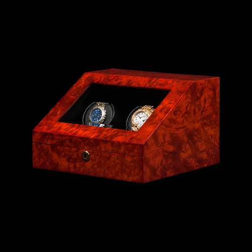Orbita Burl Siena | 2 Watch Winder | Panatime.com