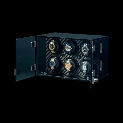 Orbita Milano 6 | Carbon Fiber Watch Winder | Panatime.com