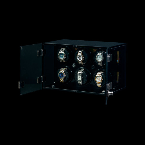 Orbita Milano 6 | Smoked Acrylic Watch Winder | Panatime.com