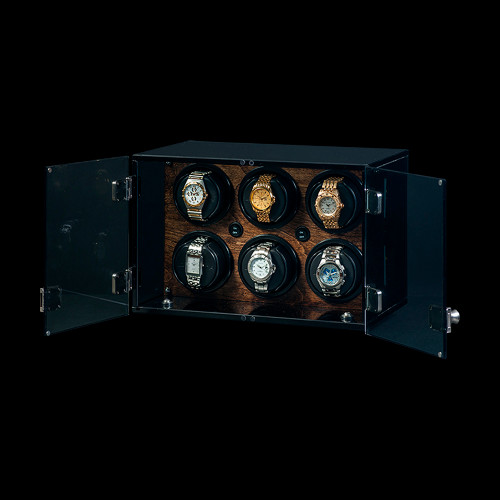 Orbita Milano Walnut Watch Winder | Panatime.com