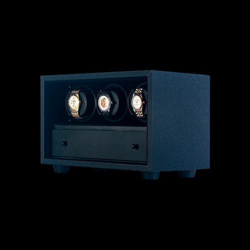 Orbita Black Insafe 3 Watch Winder | Panatime.com