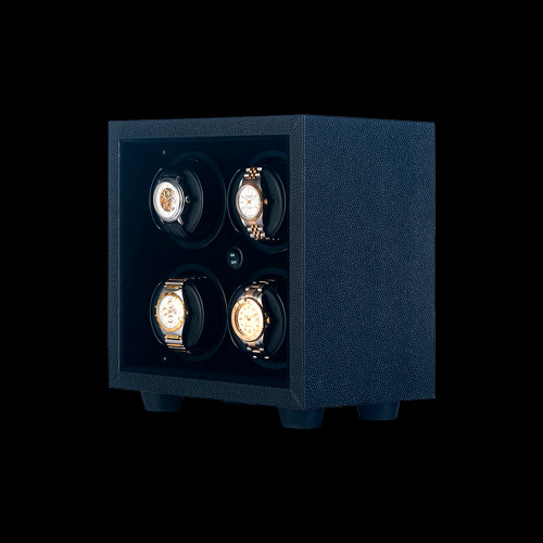 Orbita Black Insafe 4 Watch Winder | Panatime.com
