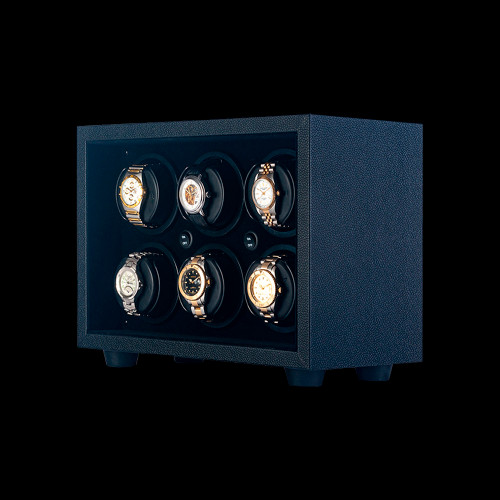 Black Orbita Insafe | 6 Watch Winder | Panatime.com