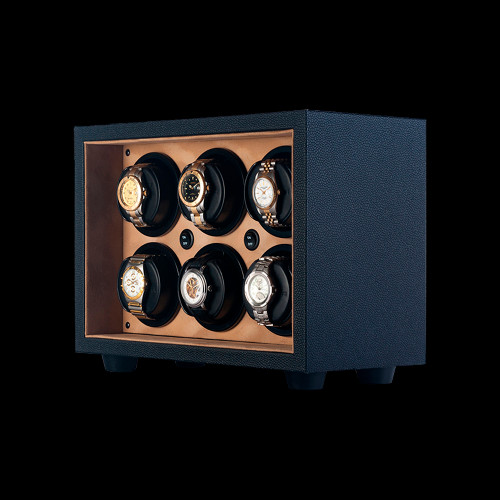 Orbita Insafe, Cream Trim | 6 Watch Winder | Panatime.com