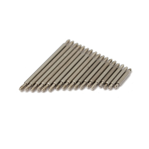 Stainless Steel Spring Bars (Pack of 10) | Double Shoulder | Panatime.com