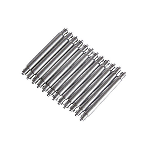 Stainless Steel Fat Boy Spring Bars - Pack of 10 | Panatime.com
