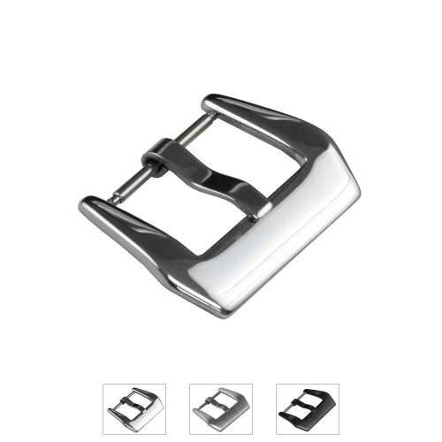 20mm Pre-v Buckle with Spring Bar Attachment - Main Image | Panatime.com