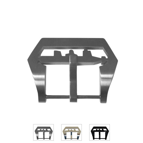 24mm Pre-v Submarine Buckle with Screw-In Attachment - Main Image   Panatime.com