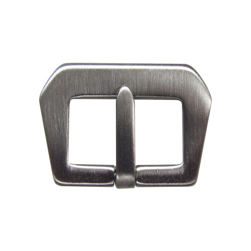 24mm Brushed GPF MOD - Sew In Buckle for Strap Makers | Panatime.com