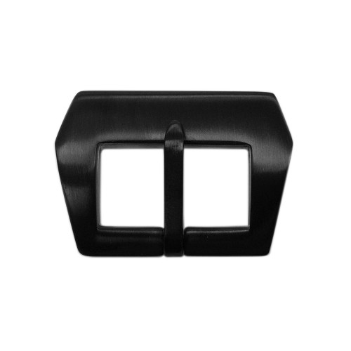 22mm PVD (Black) Pre-v - Sew In Buckle for Strap Makers | Panatime.com