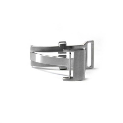 18mm Brushed Deploy Clasp for Breitling | Panatime.com